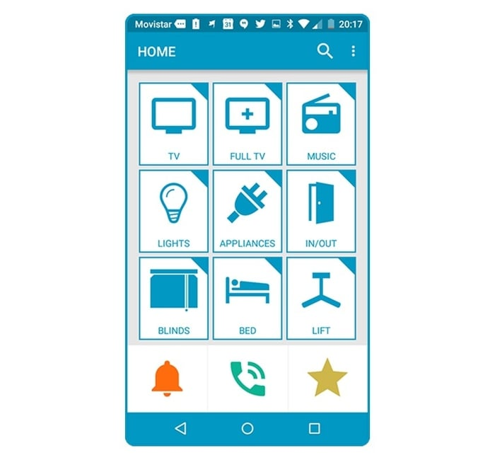 Controlo Plus (App Home)