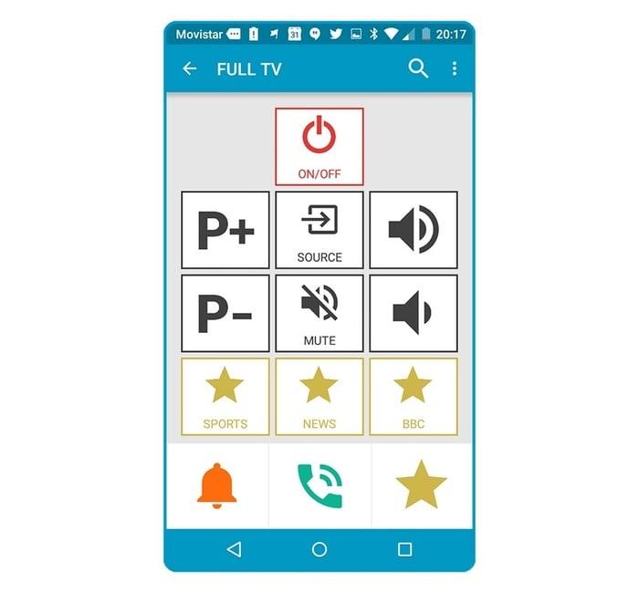 Controlo Plus (App TV)