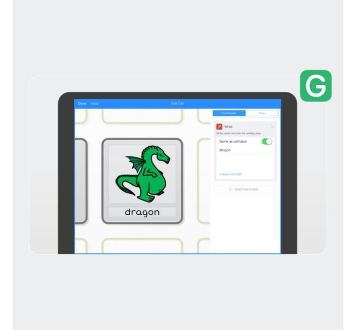 Grid para iPad (Dragão)