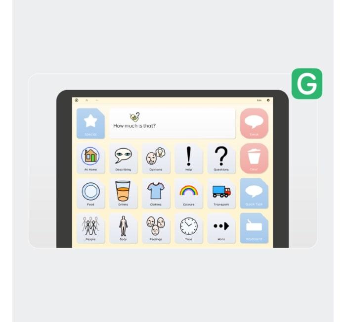 Grid para iPad (Teclado)
